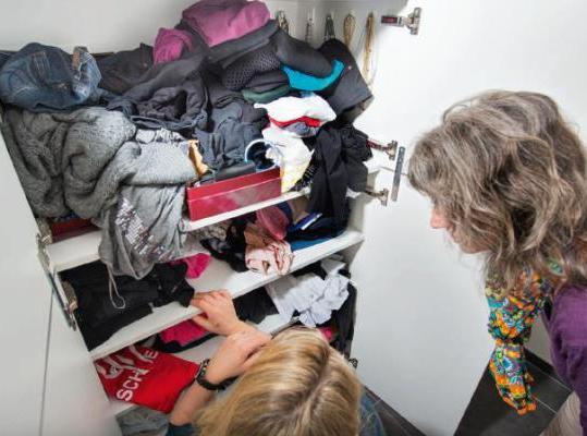Chaos im Kleiderschrank?